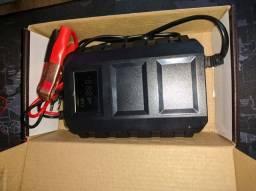 Carregador de bateria automotivo inteligente 12V 20A