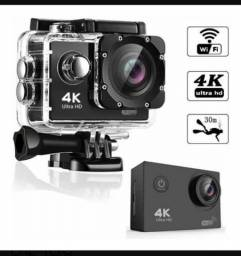 Camera Pro Ultra 4k Sport Wifi Hd Prova Dágua