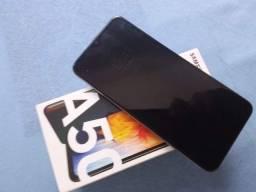 Vendo ou troca a50 128 GB com biometria na tela filé