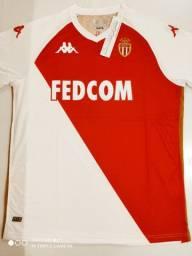 Camisa Monaco Home Kappa 20/21 - Tamanho: G