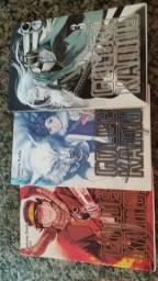 Manga Golden Kamuy: Vol. 1, 2 e 3