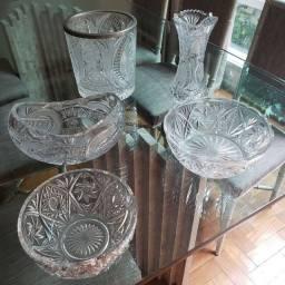 Vendo vasos de cristal Tcheco