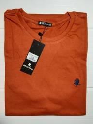 Camisa 100% algodão M G GG