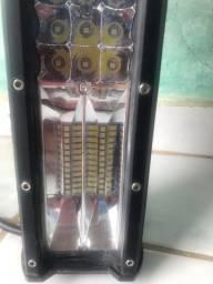 Potente Farol de Milha Barra de Leds 7D Cinoy 80cm