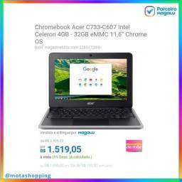 Chromebook Acer C733-C607 Intel Celeron 4GB.