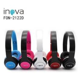 *Imperdivel*Fone de Ouvido Inova MP3 FM Cartão Bluetooth