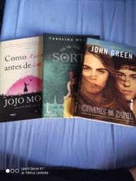 Kit 3 livros de romance