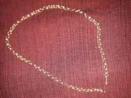 Vendo cordão de prata banhado