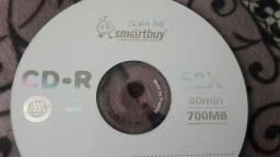 CD-R SMARTBUY 700M ou 80min 52x