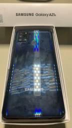 Samsung a21s 64gb 4ram preto ?1 ano de garantia de e nota fiscal e leia a descrição ?