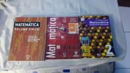 LIVROS DE MATEMÁTICA GÉLSON IEZZI, MATEMÁTICA , MATEMÁTICA CONTEXTOS E APLICAÇÕES
