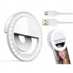 Anel De Led Luz Para Selfie Ring Light Flash Celular Iphone Galaxy Xperia