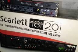 Título do anúncio: Focusrite 18i20 USB gravação interface