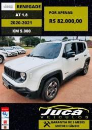 Jeep Renegade 1.8 Flex 4x2 2020/2021