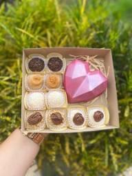 Caixa de chocolate dia das mães