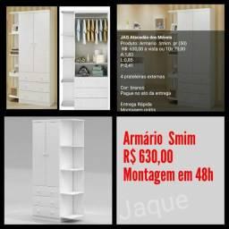 Armário Smim/ Montagem Grátis.