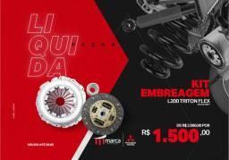 Kit Embreagem L200 Triton Flex 2013 a 2017