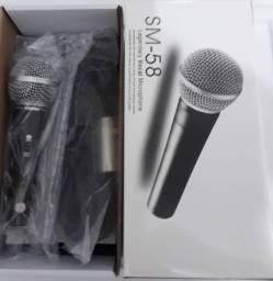 Microfone sm58_varejo e atacado entrega a domicílio joão pessoa e região