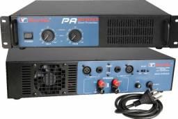 Amplificador de Potência 1 400 rms