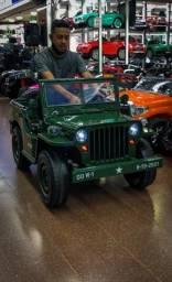 Jeep militar infantil 12v
