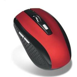 NOVO Mouse Sem Fio, 6 Botões 2400 Dpi