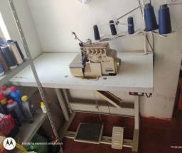 Máquina de costura interloque industrial