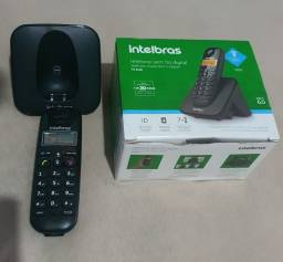 Telefone sem fio Intelbras TS3110 seminovo garantia