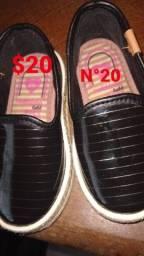 Sapato da moleca