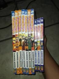 Naruto diversos Volumes