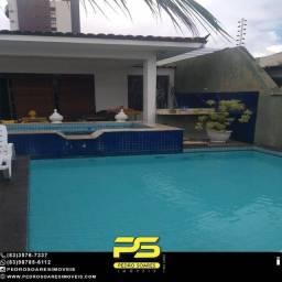 Casa com 4 dormitórios para alugar por R$ 6.000/mês - Bessa - João Pessoa/PB