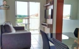 Apartamento 2 quartos à venda mobiliado 4° andar em tarumã.