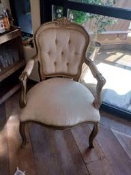 Cadeiras tipo Luiz xv