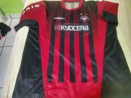 Camisa antiga atlético paranaense Kyocera