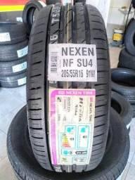 Pneu Novo 205/55 R16 91W Marca Nexen ( Pneu Alta Performace )