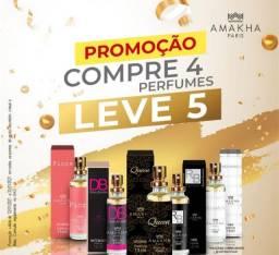 Promoção: Compre 4 perfumes leve 5
