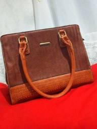 Bolsa de couro NOVA comprada na LET'S,16 março !
