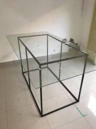Mesa vidro temperado
