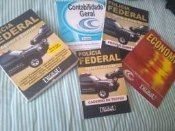 Conjunto de apostilas para a polícia federal