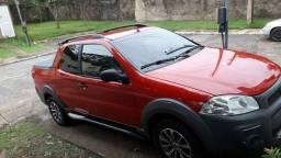 Strada 1.4cabine dupla 3portas carro impecável todo revisado pneus novos e roda liga leve