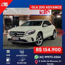 Mercedes-Benz GLA 200 Advance 1.6 Turbo 2018