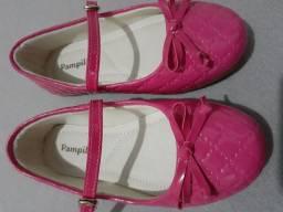 Vendo Sapato Feminino Infantil Rosa da marca Pampili, n°24
