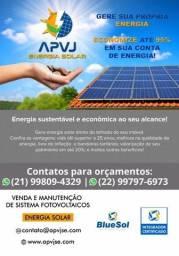 Economize já com energia solar