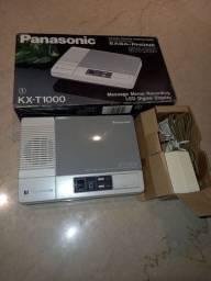 Secretária Eletrônica Panasonic Easa-Phone KX-T1000 na caixa