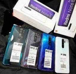Note 8 Pro 128GB/6GB Ram Branco/Azul/Verde 1490,00