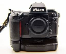 Camera Nikon F100 + Grip Original - Perfeita