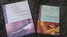 2 Livros de Fisoterapia por 15 reais os 2. Em ótimo estado.