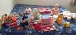 Vendo todos esses brinquedos