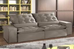 Sofa retratil reclinavel montando 2,10 OKM819