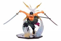 Action Figure Boneco Roronoa Zoro One Piece 15cm