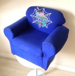 Mini Sofá Poltrona Infantil - Homem-Aranha